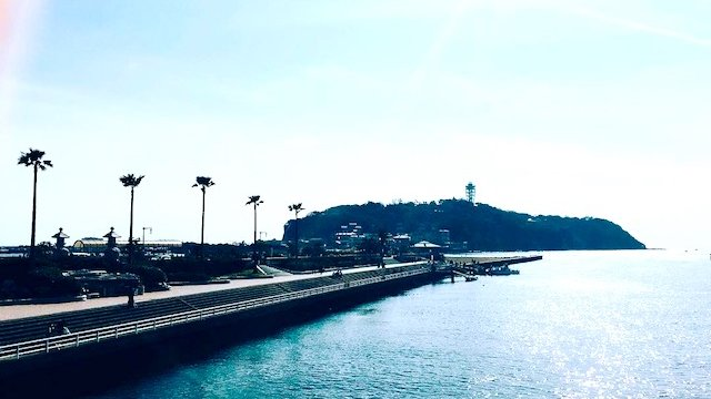 江ノ島ロケ1